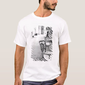 T-shirt Turin Italie, café et arcade