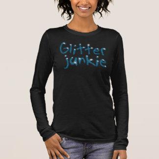 T-shirt turquoise d'étincelle de drogué de parties