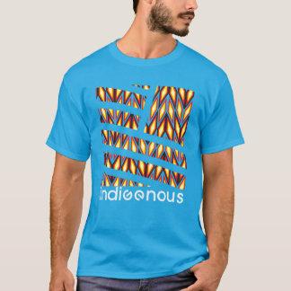 T-shirt Turquoise indigène de diamant