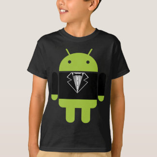 T-shirt Tux androïde