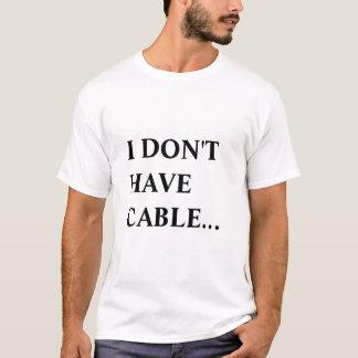 T-shirt TV par câble