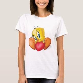 T-shirt Tweety tenant le coeur