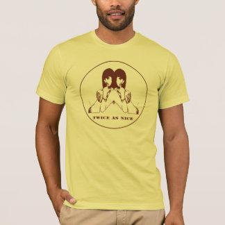 T-shirt Twice as Nice/Men Apparel Basic