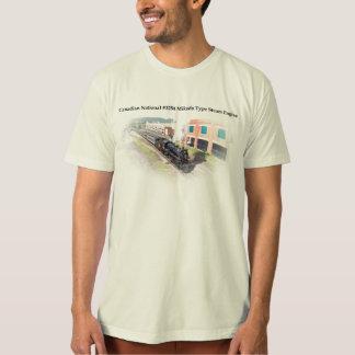 T-shirt Type canadien machine à vapeur de Mikado du