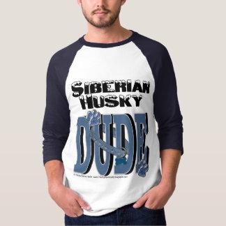 T-shirt TYPE de chien de traîneau sibérien