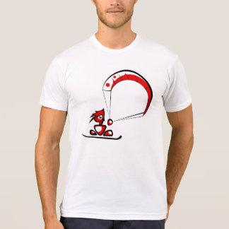 T-shirt Type frais de bande dessinée de kitesurf