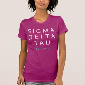 T-shirt Type moderne de Tau | de delta de sigma