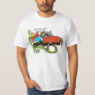 T-shirt Type ! Monstres !