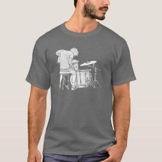 T-shirt Type noir et blanc de roche