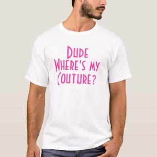 T-shirt Type où est ma couture