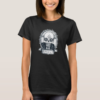T-shirt Type souriant #1 de Skully