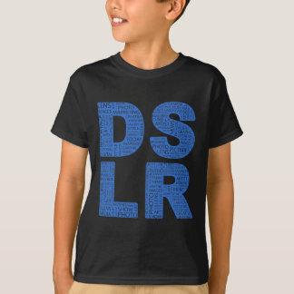 T-shirt Type texte de DSLR de typo