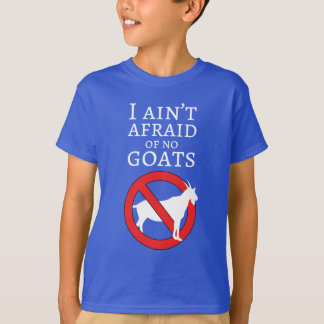 T-shirt Types de chèvre