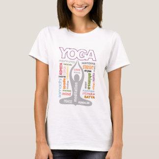 T-shirt Typographie de yoga
