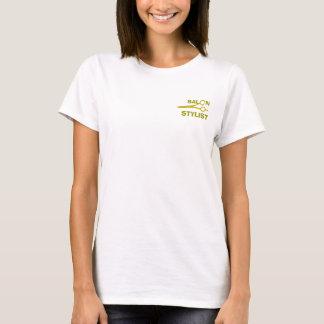 T-shirt Typographie moderne mignonne de ciseaux de salon