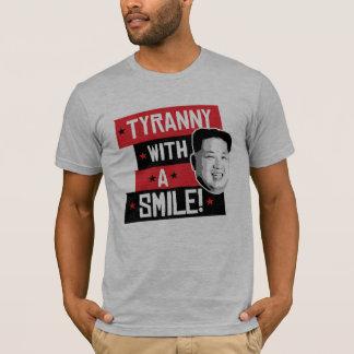 T-shirt Tyrannie avec un sourire -