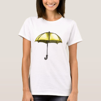 T-shirt U est pour le parapluie