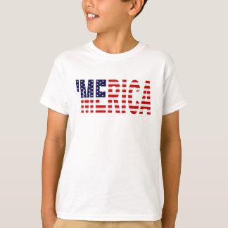 T-shirt U.S. Chemise de MERICA de drapeau '