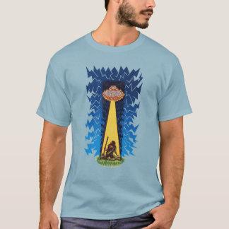 T-shirt UFO - Aliens antiques