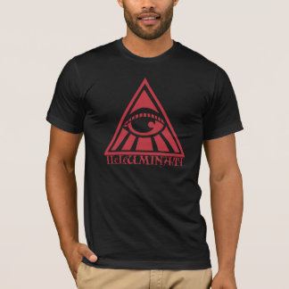 T-shirt UFO d'Illuminati