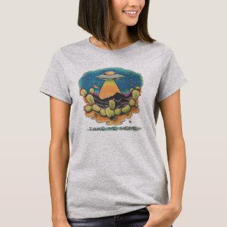 T-shirt UFO - Prenez-moi à la maison