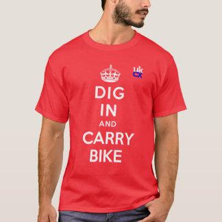 T-shirt UKCyclocross - fouille dedans et portent le vélo