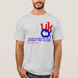 T-shirt UKCyclocross - je me sens sale
