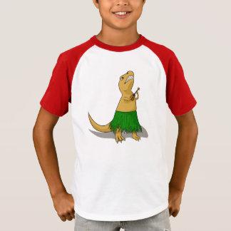 T-shirt Ukulélé de T-Rex