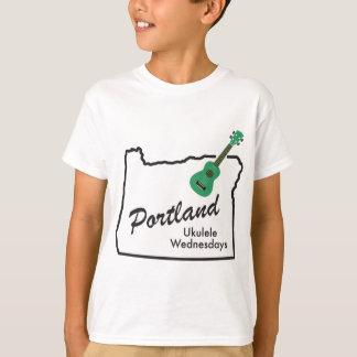 T-shirt Ukulélé mercredi de Portland