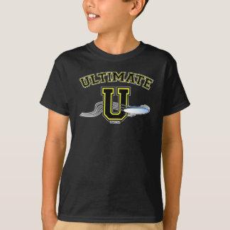 T-shirt UltimateU Scoober jaune 2 dégrossi