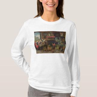 T-shirt Ulysse identifiant Achille parmi des filles