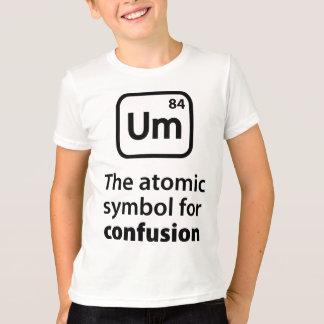 T-shirt Um le symbole atomique pour la confusion