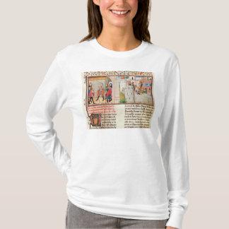 T-shirt Un accord et le bâtiment d'un château