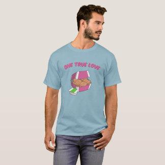 T-shirt Un amour vrai : Pépites de poulet