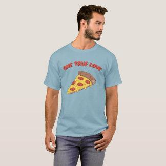 T-shirt Un amour vrai : Pizza