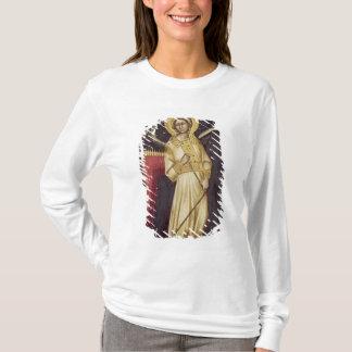T-shirt Un ange avec un démon sur une chaîne