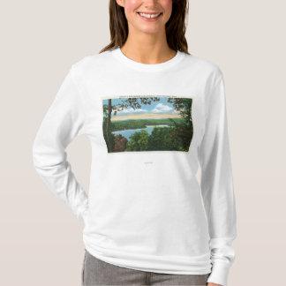 T-shirt Un aperçu de lac Garfield