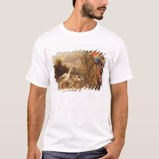 T-shirt Un ara, canards, perroquets et d'autres oiseaux