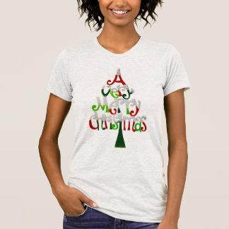 T-shirt Un arbre de Noël très Joyeux