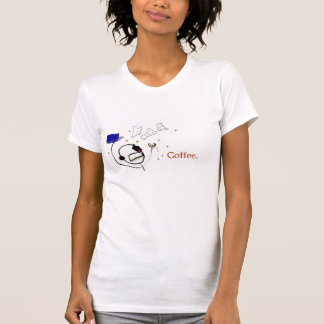 T-shirt Un auteur sans café