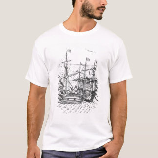 T-shirt Un bateau de trésor espagnol
