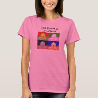 T-shirt Un CavaChon coloré !