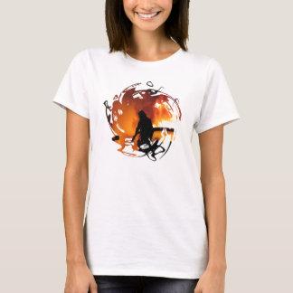 T-shirt Un cercle des flammes