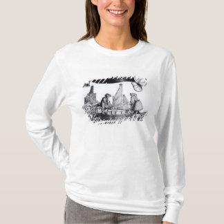 T-shirt Un chariot musical