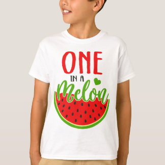 T-shirt Un dans un melon