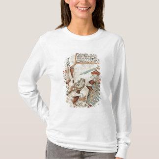 T-shirt Un dieu Tyr des norses perdant sa main au loup