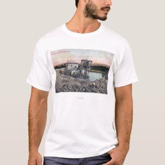 T-shirt Un dragueur draguant pour GoldOroville, CA