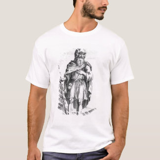 T-shirt Un druide britannique, gravé en van der Gucht,