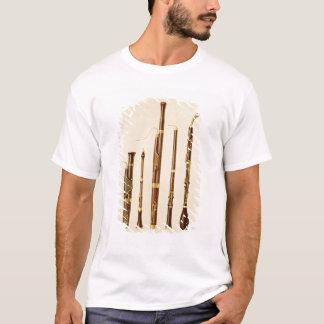 T-shirt Un dulcian, un hautbois, un basson, un caccia de
