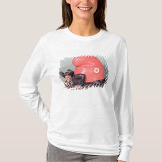 T-shirt Un encrier encastré ou un pot de tabac